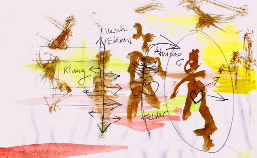 IV Zeichnung Gold